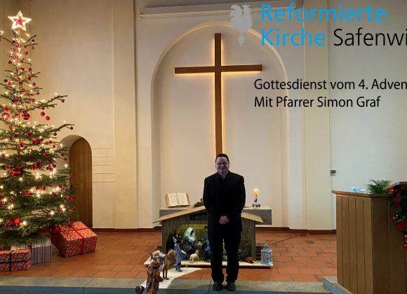 Gottesdienst vom 4.Advent