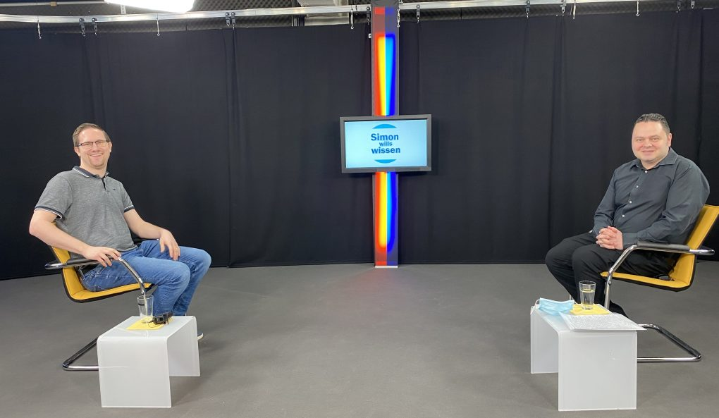 TV-Interview von Pfarrer Simon Graf
