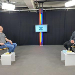 Pfarrer Simon Graf kommt ins Fernsehen